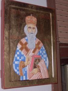 Sv.Nikolaj Velimirović-30x40,daska